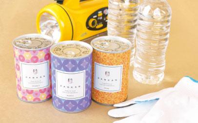 ◆コロナ禍におけるPTA会費の還元策(その2) <防災備蓄用『パンの缶詰 PANKAN』の配布>